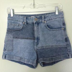 Bullhead Two Tone Denim Shorts